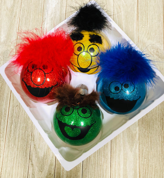 Sesame Street set of four
