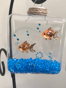 Gold fish ornament
