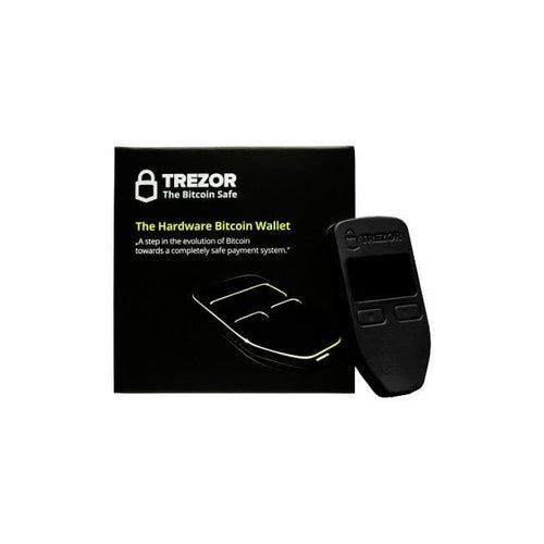 Trezor Hardware Wallet - Next Mining