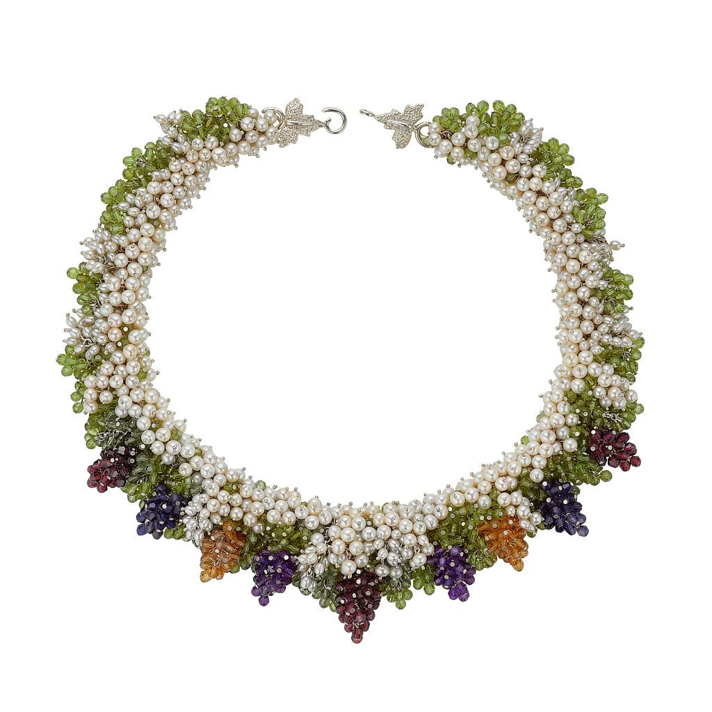 Summer Harvest Necklace by Tina Ashmore Luxury Jewelry