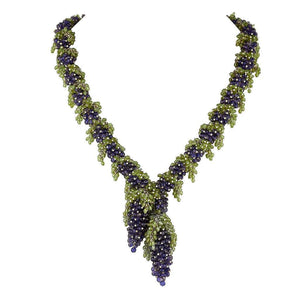 Tuscany Necklace Blue Iolite by Tina Ashmore Luxury Jewelry