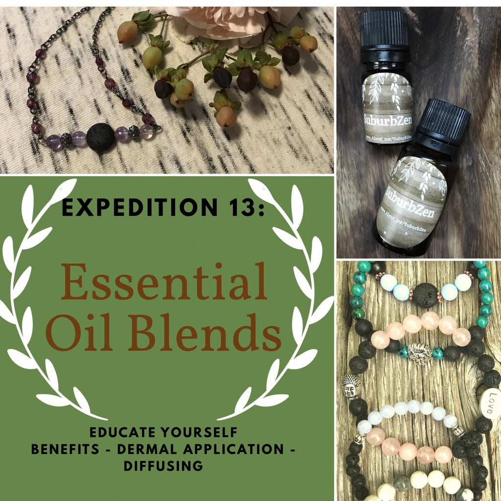 Expedition 13: Essential Oil Blends