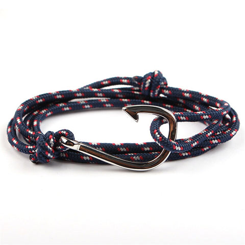 Rope Nautical Hook Bracelet