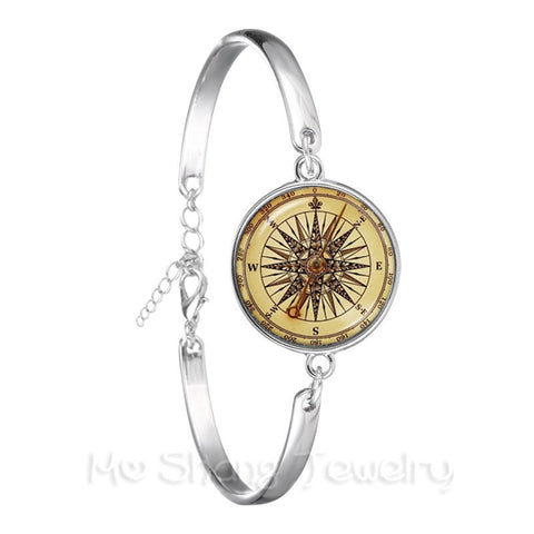 Nautical Compass Bracelet