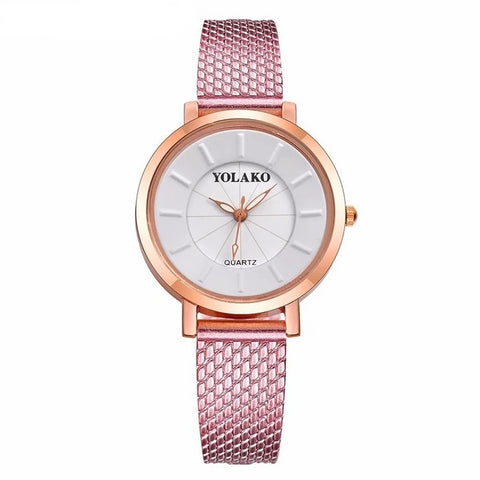 Women Rose Gold  Luxury  Watch