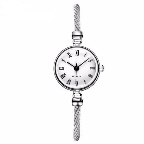 Silver Casual Wristwatches