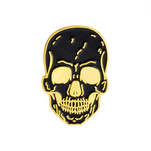 Load image into Gallery viewer, Happy Halloween !  Party Gift Punk Gothic Dark Skeleton Skull Collection Coffin Zombie Mummy Rib Enamel Brooches Pins - 350 Graphic Design