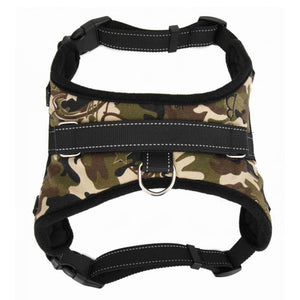 1pc Dog Walk Out Harness Vest Collar Hand Strap for Small Medium Large Dogs - 350 Graphic Design