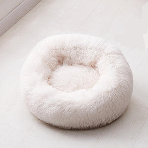 Round Dog Bed Washable Pet Cat Bed Dog Breathable Lounger Sofa for Small Medium Dogs Super Soft Plush Pads Products for Dog - 350 Graphic Design