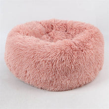 Load image into Gallery viewer, Round Dog Bed Washable Pet Cat Bed Dog Breathable Lounger Sofa for Small Medium Dogs Super Soft Plush Pads Products for Dog - 350 Graphic Design