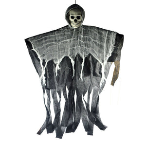 Horrible Hanging Skull Ghost Halloween Decoration for Party Haunted House E2S - 350 Graphic Design