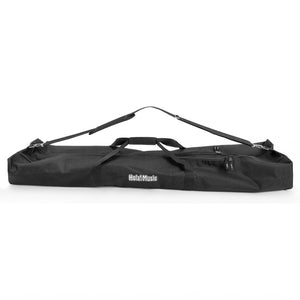 Speaker and Microphone Stand Gig Bag, Dual Compartment, 50 Inch Long with Shoulder Strap