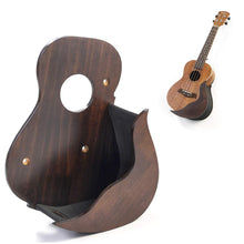 Load image into Gallery viewer, Hola! Music Ukulele Stands (Wall Hanger - Walnut)