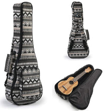 Load image into Gallery viewer, Heavy Duty SOPRANO Ukulele Gig Bag (up to 21.5 Inch) with 12mm Padding