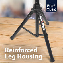 Load image into Gallery viewer, PAIR of Studio Monitor Speaker Stands by Hola! Music, Professional Heavy-Duty Tripod Structure, Adjustable Height, Model HPS-600MS