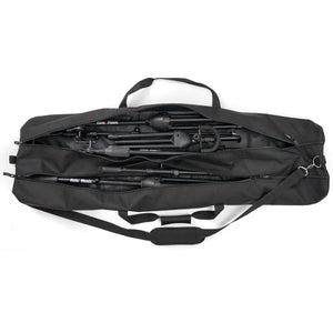 Microphone Stands Gig Bag, Dual Compartment, 50 Inch Long with Shoulder Strap