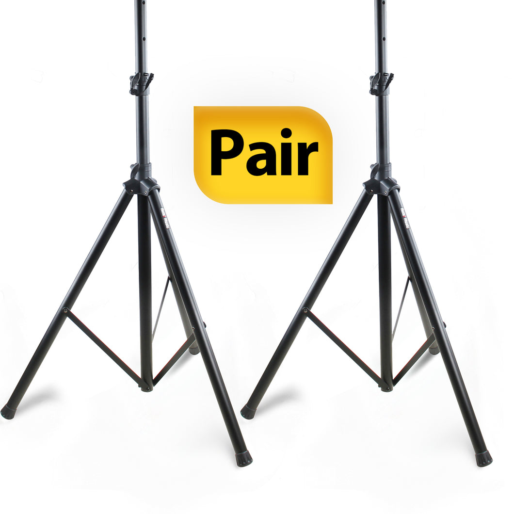 *PAIR* PA Speaker Stands , Professional Tripod Structure, 4-6ft Adjustable Height, Model HPS-200PA