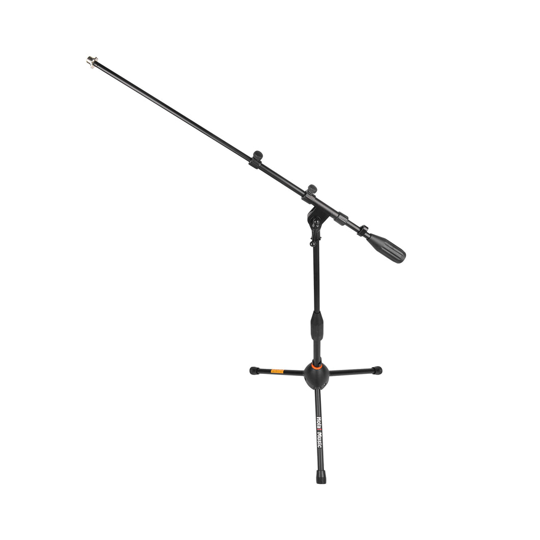 HPS-101KD Professional Low Profile Tripod Microphone Stand for Kick Drums, Black