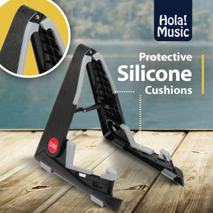 Pack of 2 - Portable Stand for Acoustic and Classical Guitars by Hola! Music