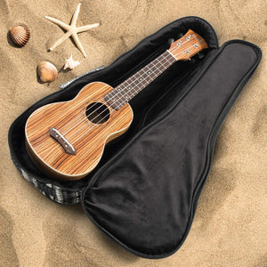 Heavy Duty SOPRANO Ukulele Gig Bag (up to 21.5 Inch) with 12mm Padding