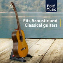 Load image into Gallery viewer, Pack of 2 - Portable Stand for Acoustic and Classical Guitars by Hola! Music