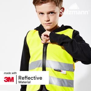 Salzmann 3M Children's High Visibility Vest, Safety Vest, Reflective Vest, Made with 3M Scotchlite