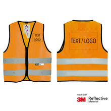 Laden Sie das Bild in den Galerie-Viewer, Salzmann 3M Children's Safety Vest, High Vis Vest for Girls, Boys, Kids, Reflective