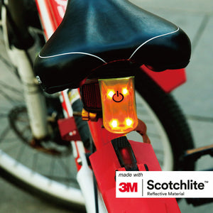 Salzmann 3M High Visibility Magnetic Clip-on Light, LED-light, 3M Scotchlite