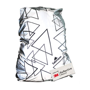 Salzmann 3M Reflective Backpack Cover, Waterproof Rucksack Cover, 3M Scotchlite