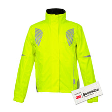 Load image into Gallery viewer, Salzmann 3M Cycling Jacket, Reflective Hi Vis, Hi Viz, High Visibility jacket, Coat, women, men, yellow, 3M Scotchlite