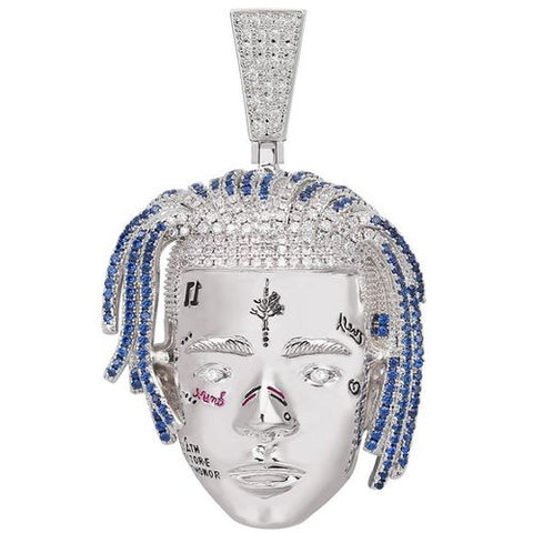 Image of 18K Gold XXXTentacion Iced Out Pendant