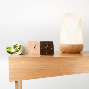 Australian Oak Wooden Desk Clock | Design by Robyn Wood - CoCo Contemporary Connoisseur Gift Store