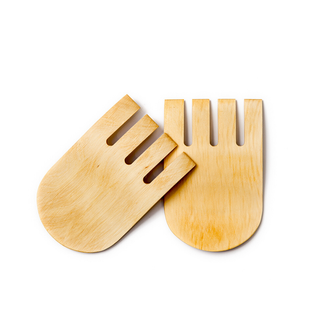 Hasa Huon Pine Salad Servers | Australian Made - CoCo Contemporary Connoisseur Gift Store