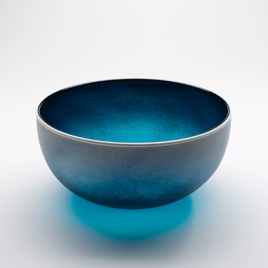 Large Beach Serving Bowl | Handmade by Llewelyn Ash - CoCo Contemporary Connoisseur Gift Store