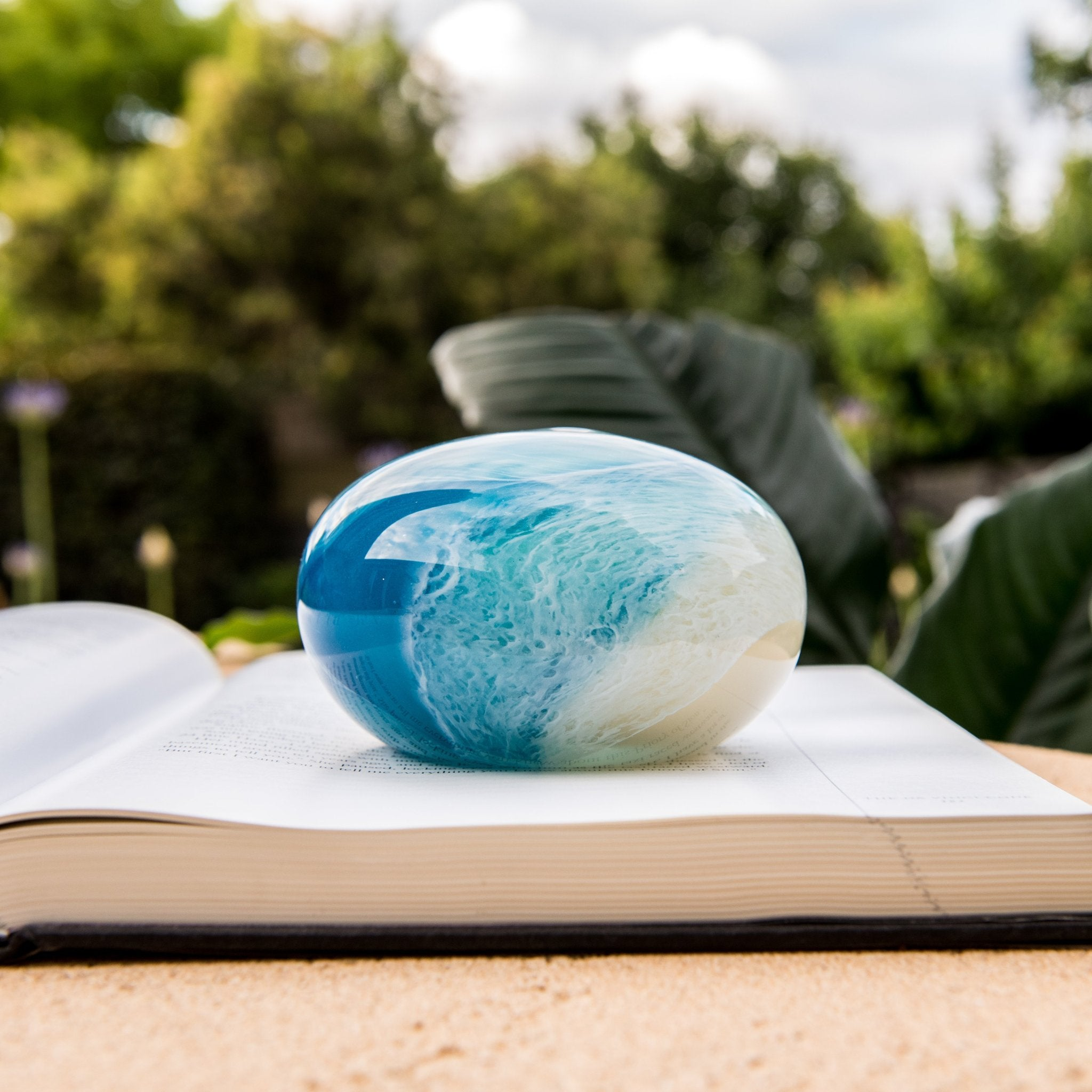 Beach Glass Paperweight | Design by Tegan Empson | Coastal Living Decor - CoCo Contemporary Connoisseur Gift Store