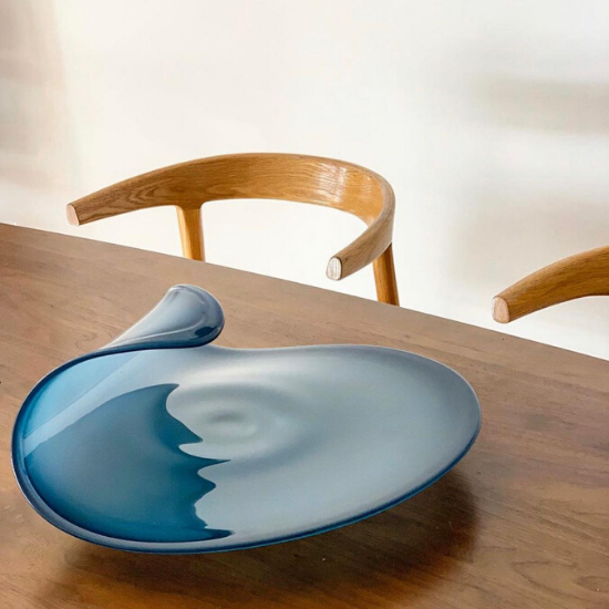 Extra Large Wave Platter | 35 cm Diameter - CoCo Contemporary Connoisseur Gift Store