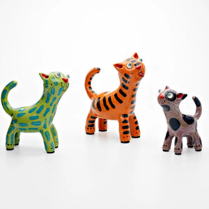 Ceramic Cat Sculpture | Handmade by Elodie Barker - CoCo Contemporary Connoisseur Gift Store