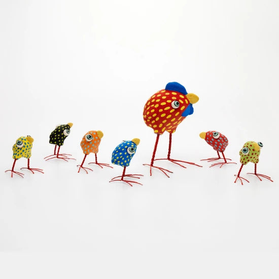 Ceramic Mother Hens and Chickens | Handmade by Elodie Barker - CoCo Contemporary Connoisseur Gift Store