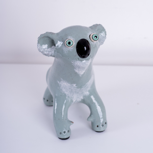 Koala Art Sculpture | Australian Made by Elodie Barker | Supporting our Koala's - CoCo Contemporary Connoisseur Gift Store