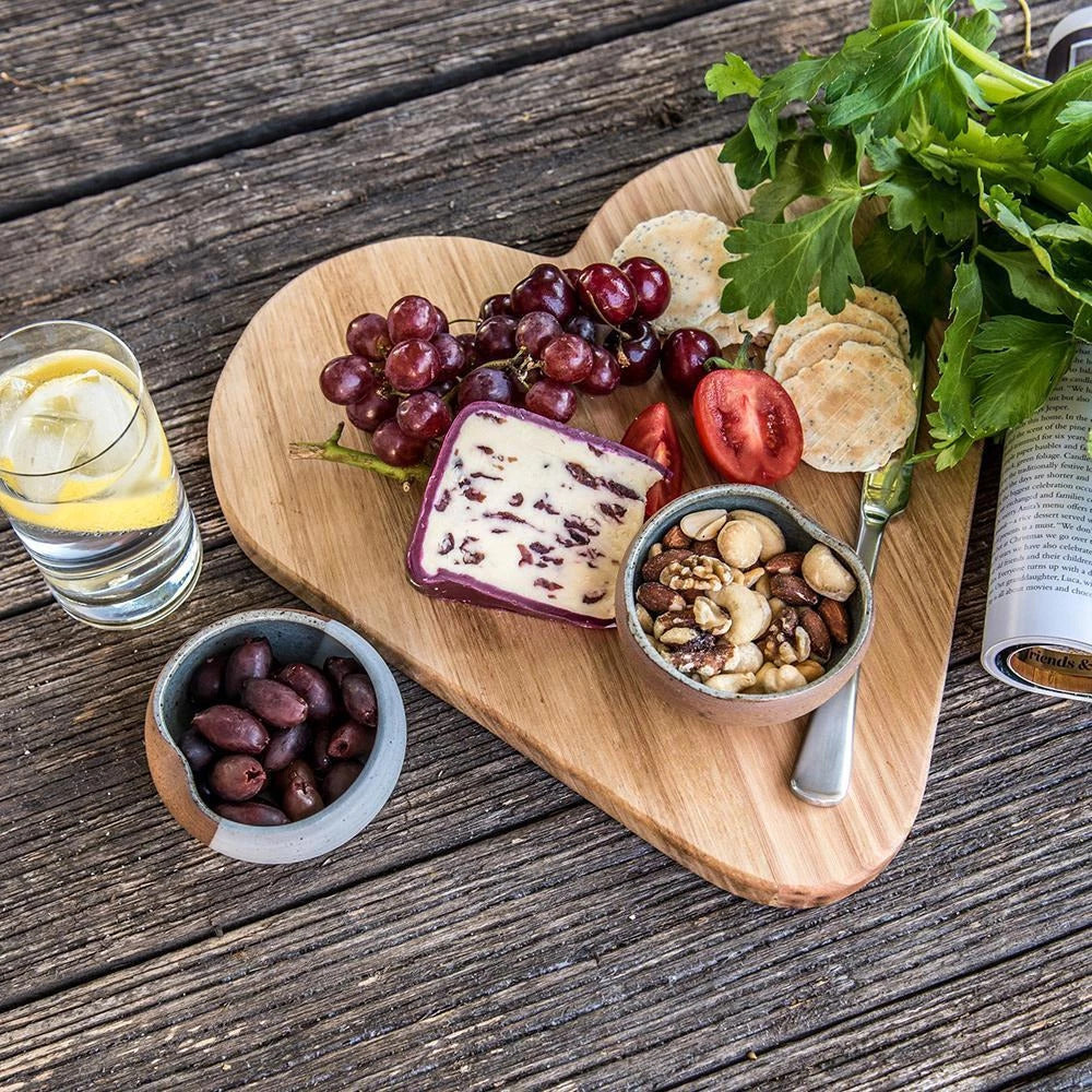Heart Cheese Board - CoCo Contemporary Connoisseur Gift Store