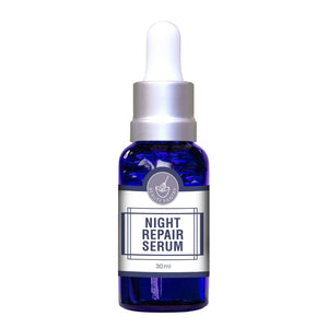 Night Repair Serum + Gift Pack with Rose Quartz Face Roller | Australian Made Skincare