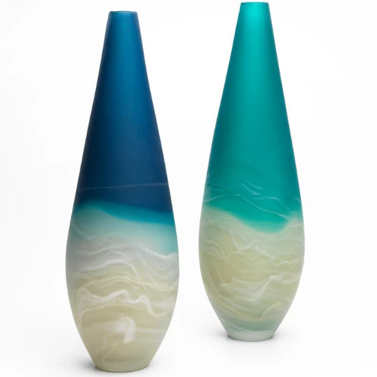 Sand Bar Beach Vase | Handmade by Llewelyn Ash - CoCo Contemporary Connoisseur Gift Store