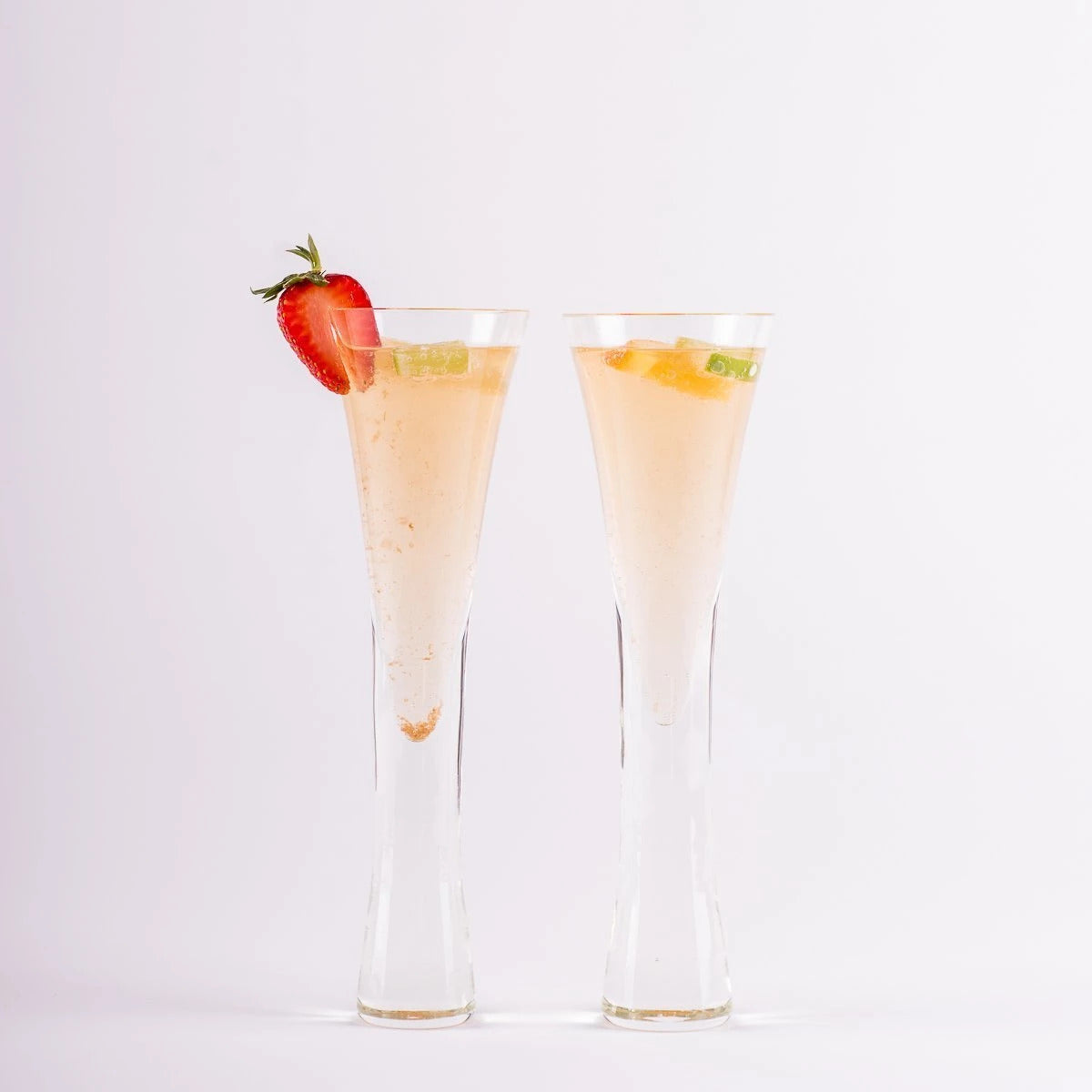 Sparkling Flutes Set of Two | Design by CoCo - CoCo Contemporary Connoisseur Gift Store