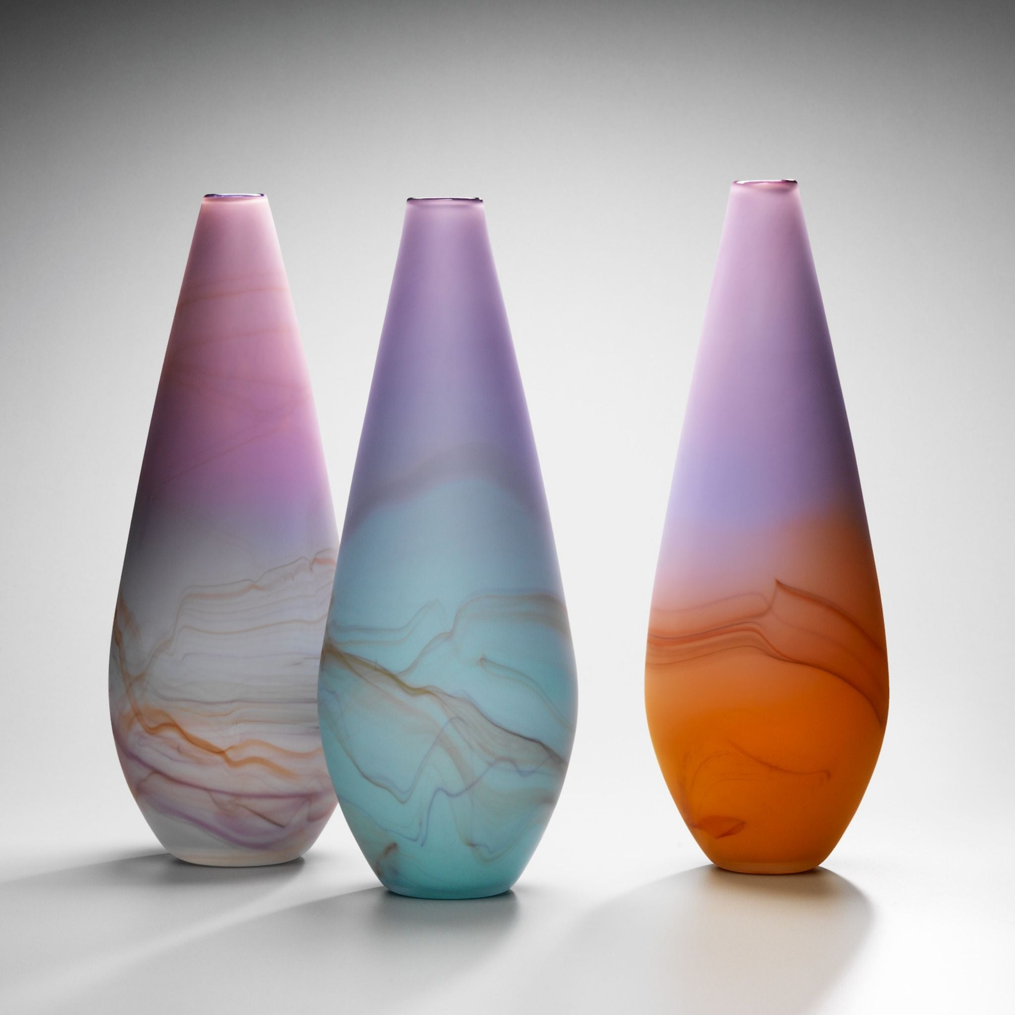 Sunset Sunrise Large Vase Sculpture | Handmade by Llewelyn Ash - CoCo Contemporary Connoisseur Gift Store