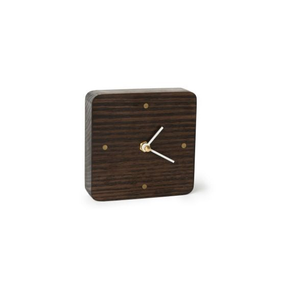 Wooden Desk Clock Australian Oak | Design by Robyn Wood - CoCo Contemporary Connoisseur Gift Store