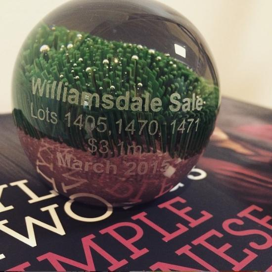 Turf Glass Paperweight | Handmade by Danielle Rickaby - CoCo Contemporary Connoisseur Gift Store