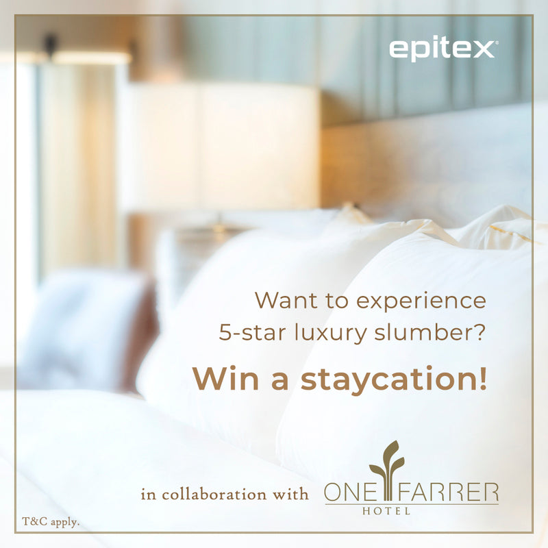 STAYCATION GIVEAWAY - Epitex X One Farrer