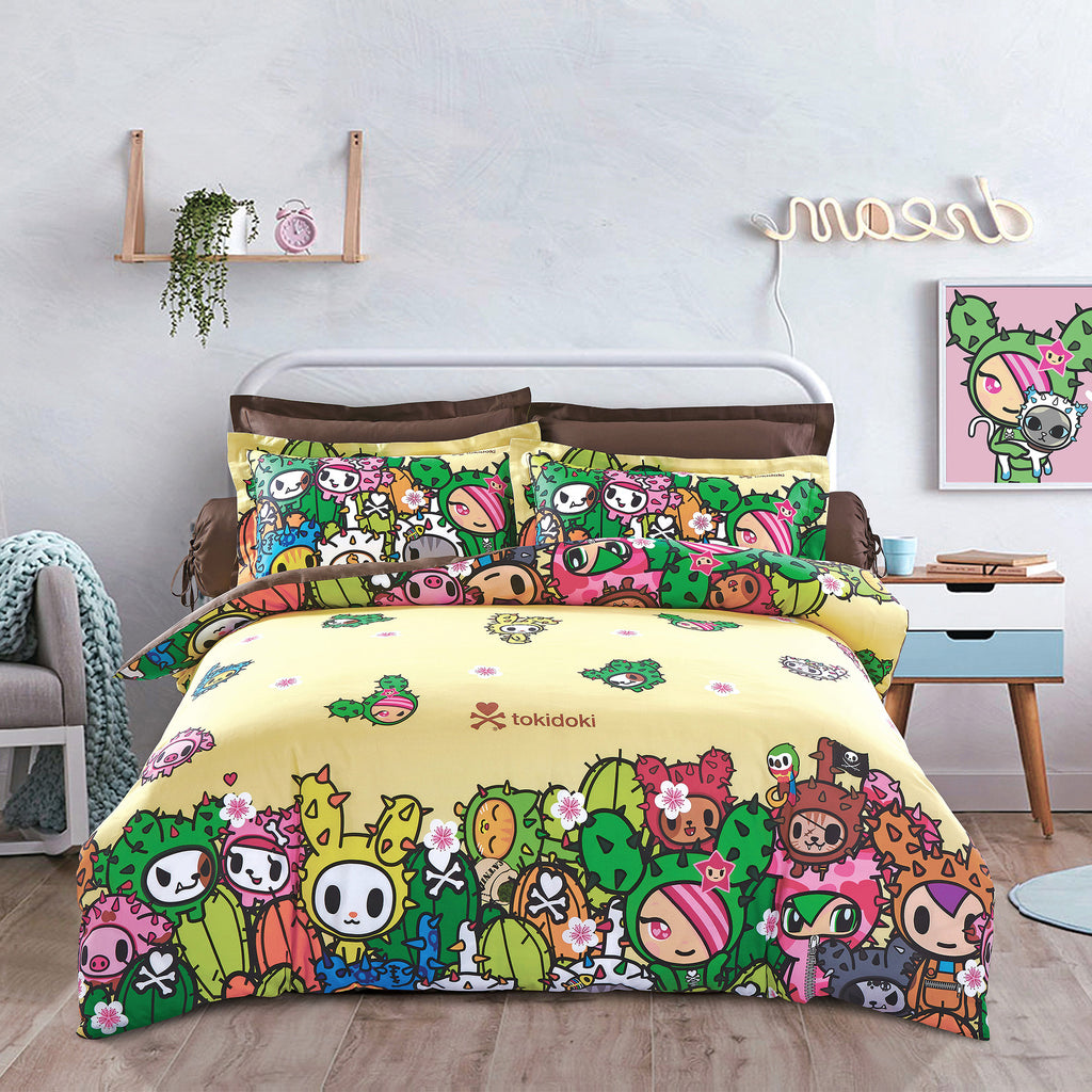 Tokidoki TK-604-20 1000TC Egyptian Cotton Bedsheet & Bedset - Epitex International