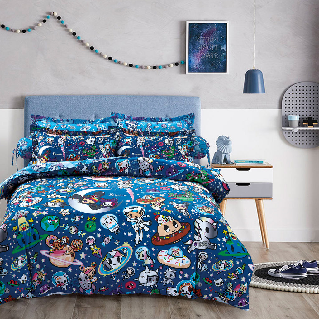 Tokidoki TK-604-27 1000TC Egyptian Cotton Bedsheet & Bedset - Epitex