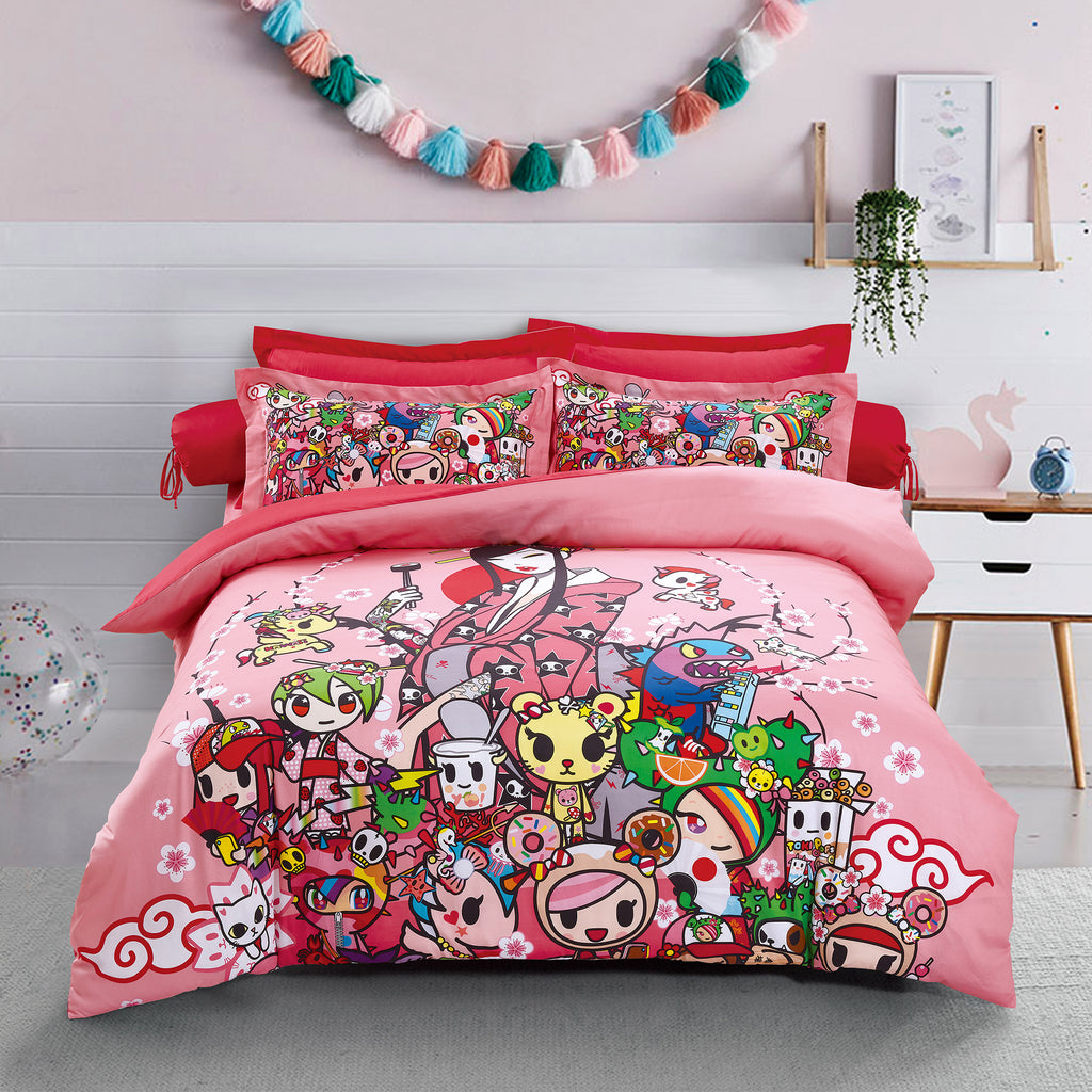 Tokidoki TK-604-21 1000TC Egyptian Cotton Bedsheet & Bedset - Epitex International